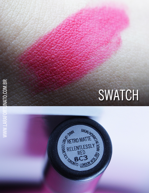 RELENTLESSLY RED SWATCH