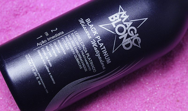 Matizador para Cabelos Loiros Black Platinum – Magic Blond