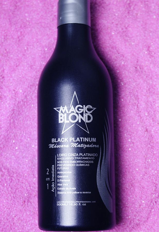 Matizador para Cabelos Loiros Black Platinum Magic Blond