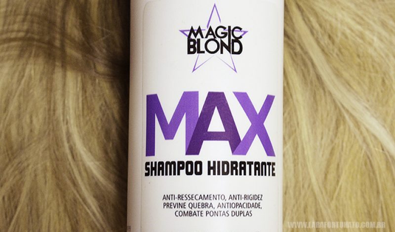 Shampoo Desamarelador – MAX MAGIC BLOND