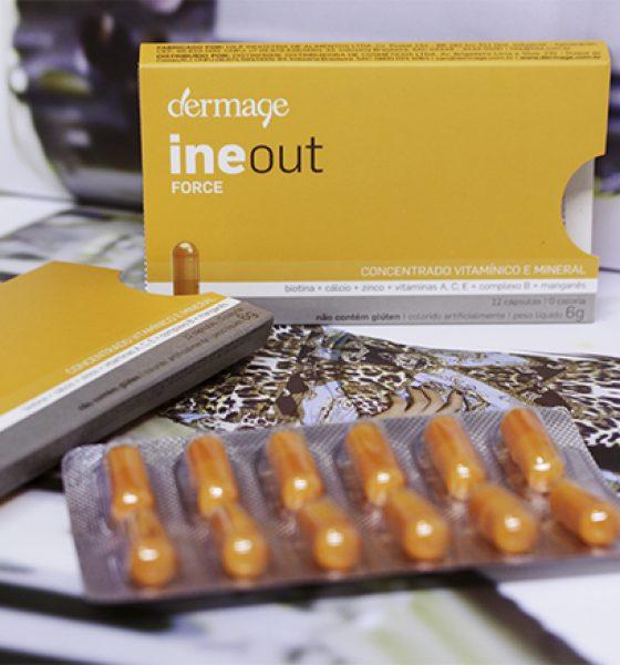 Cápsulas para beleza de cabelos e unhas.