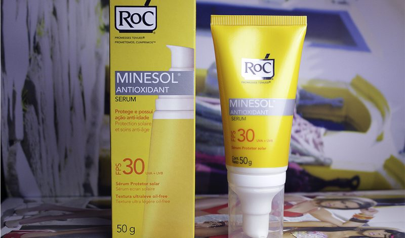 Melhor Protetor Solar para uso diário – Sem oleosidade sem acne – Minesol Serum ROC