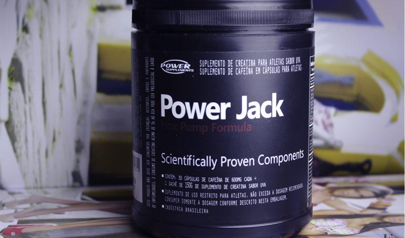 Vamos falar de Pré Treino? – Power Jack Nox Pump