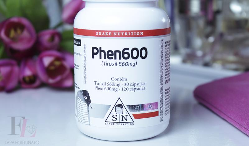 Suplemento Emagrecedor termogênico Phen600 – Snake Nutrition